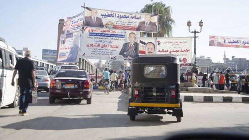 مرشحو مجلس الشعب يتنافسون على جذب أصوات الناخبين