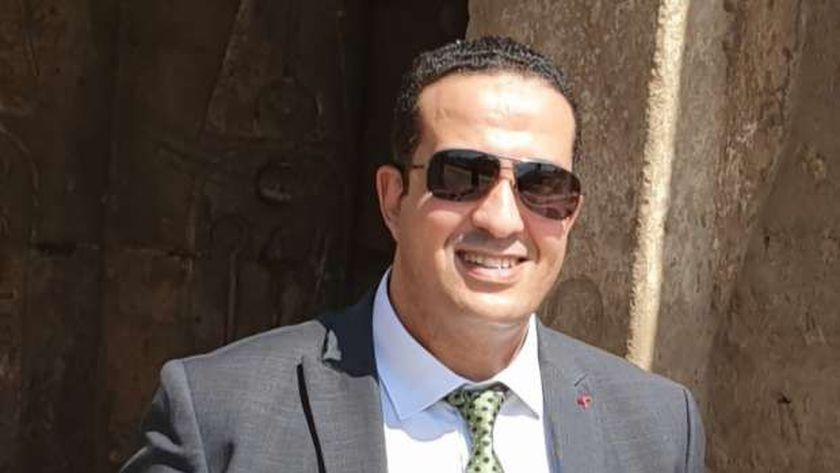 ياسر مهدي مدير إعلام الأقصر