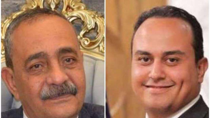 الدكتور أحمد السبكي واللواء شريف بشارة