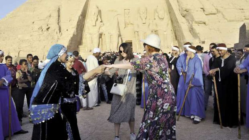 السياحة الأجنبية عادت بعد استقرار مصر أمنياً