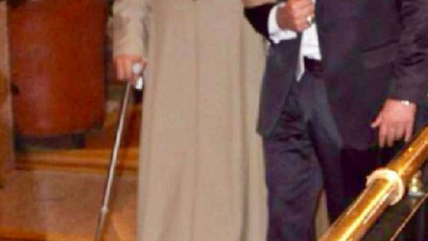 محمد رجب مع والده
