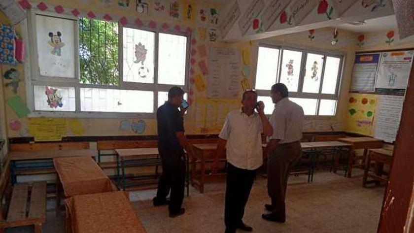 مقر انتخابي في مطوبس