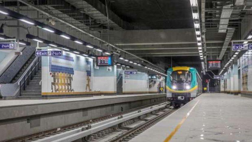 أحد قطارات مترو الأنفاق الجديدة - صورة أرشيفية