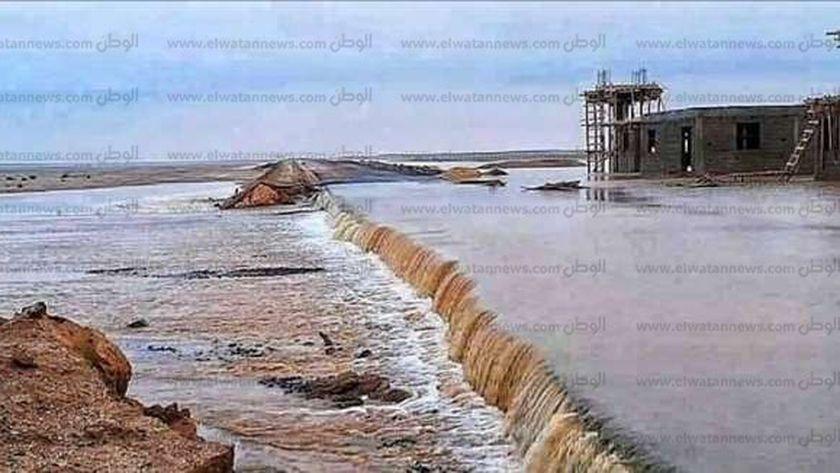 سيول البحر الأحمر.. صورة أرشيفية