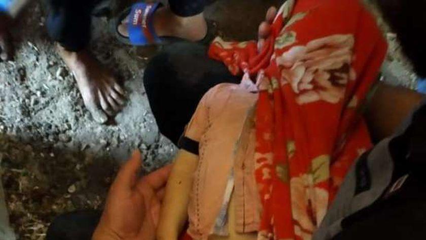 مصرع طفل سقط داخل ترعة بالغربية