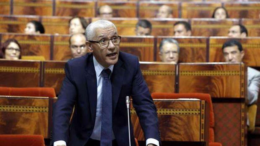 رئيس البرلمان المغربي راشيد الطالبي العلمي
