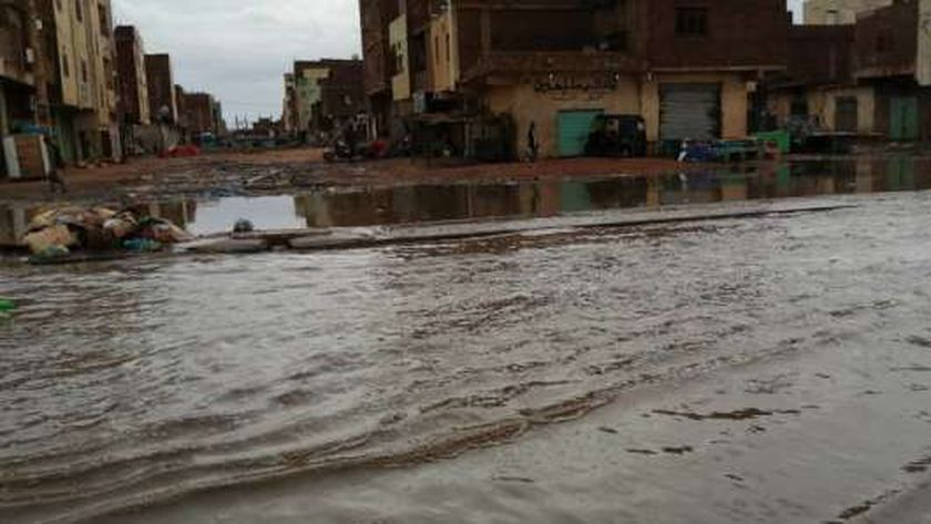 السيول تغمر السودان