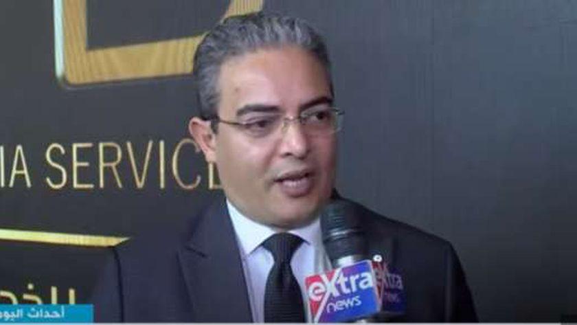 طارق سعدة.. نقيب الإعلاميين