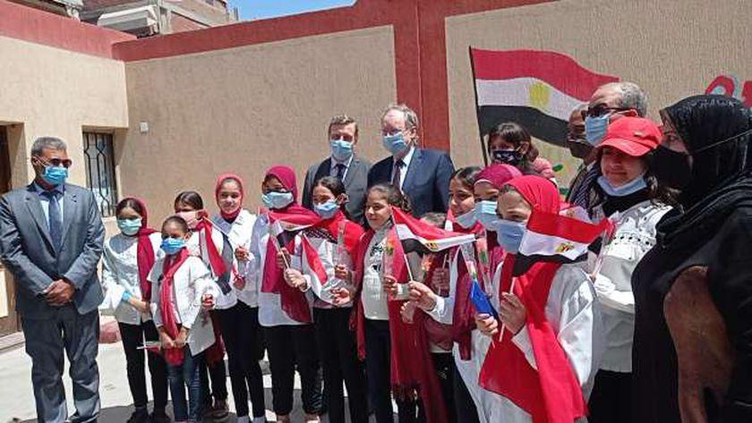 سفير الاتحاد الأوروبي ببورسعيد