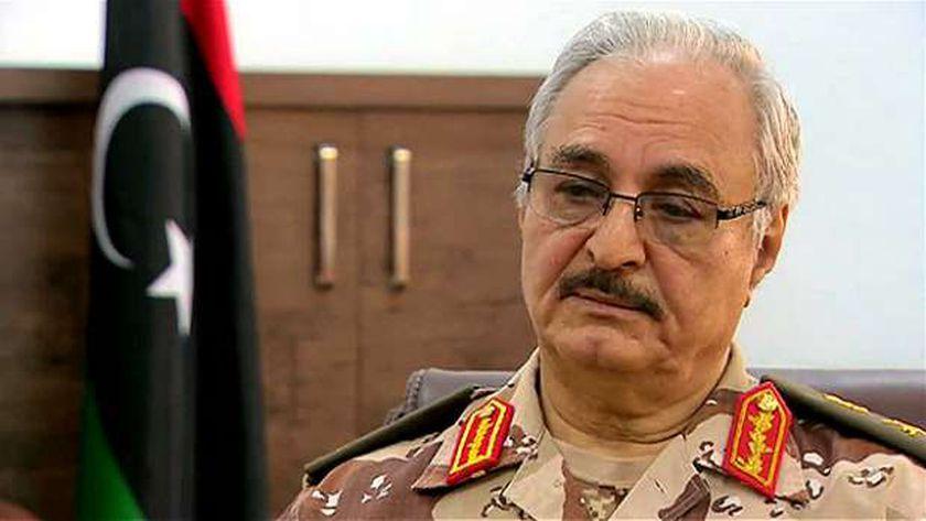القائد العام للجيش الليبي الفريق أول خليفة حفتر