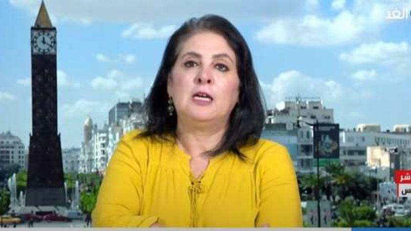الدكتورة بدرة قعلول، رئيس المركز الدولي للدراسات الأمنية والعسكرية بتونس