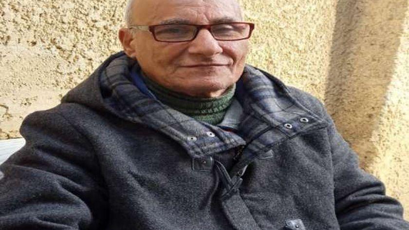 عبدالنبى توفيق- أحد نزلاء مؤسسة معانا لإنقاذ إنسان