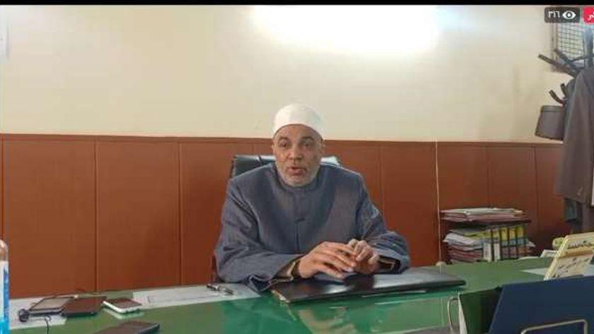 الشيخ جابر طايع يوسف رئيس القطاع الديني