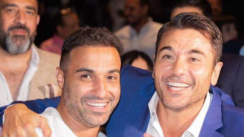 أحمد عز وأحمد فهمي