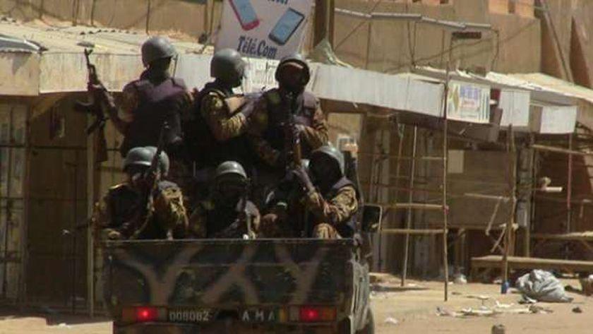 عناصر من القوات الحكومية - أفريقيا الوسطى