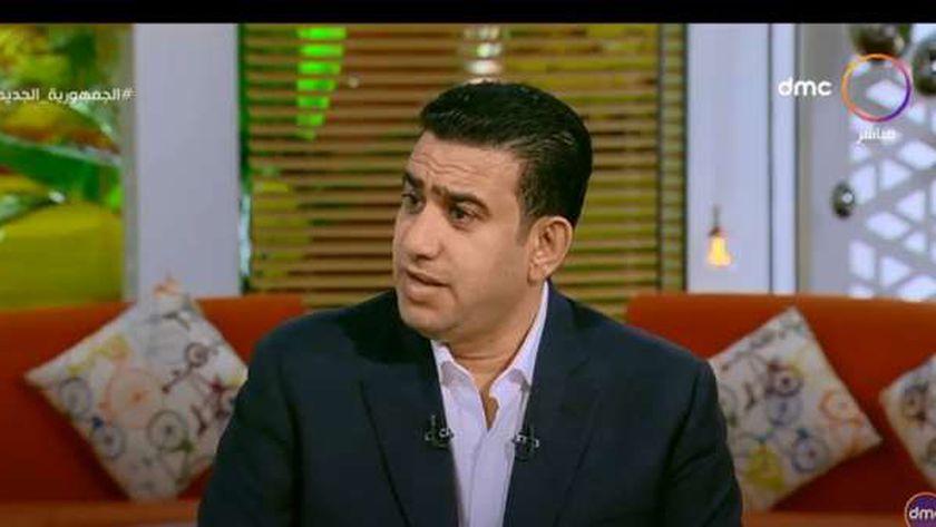 الكاتب الصحفي سامي عبدالراضي.. مدير تحرير جريدة الوطن