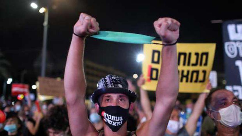احتجاجات في إسرائيل بسبب الأزمة الاقتصادية