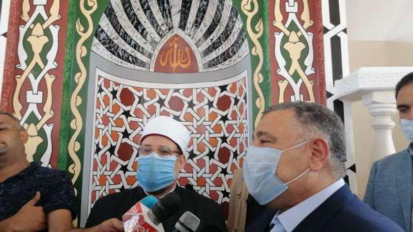 وزير الأوقاف يفتتح مسجد الأحياء بالغردقة