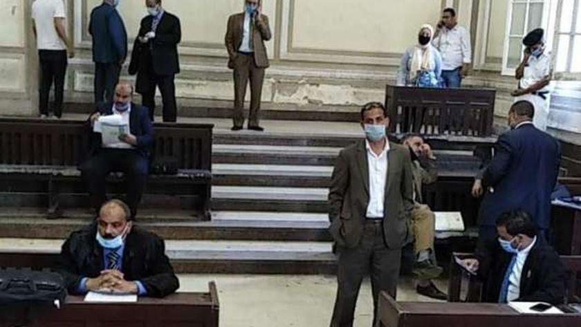 التزام بارتداء الكمامة داخل مجمع محاكم الإسكندرية
