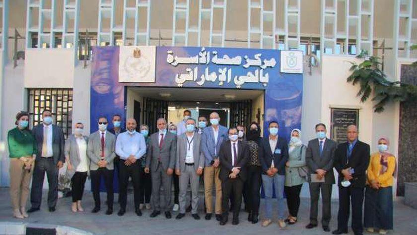 «الرعاية الصحية»: وفد ليبي يزور منشآت الهيئة للاستفادة من تجربة مصر