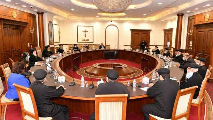 البابا مع رؤساء المجالس الإقليمية للأحوال الشخصية