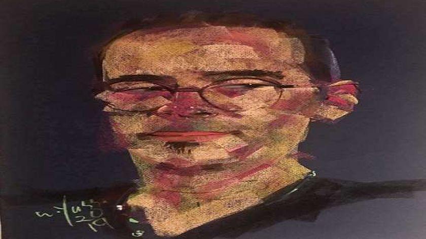 لوحة نادر عباسي بريشة وجيه يسى
