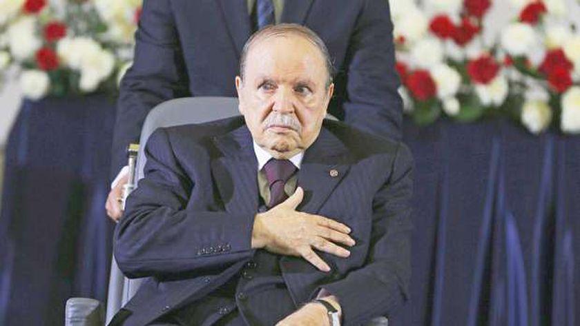 الرئيس الجزائري السابق بوتفليقة