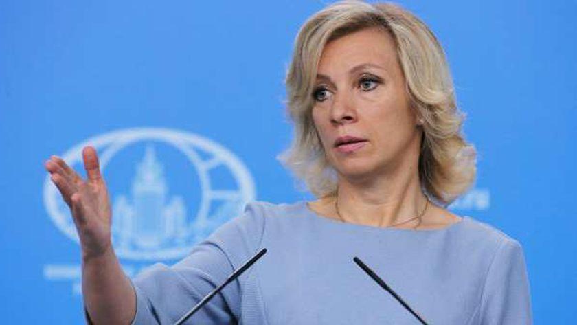 ماريا زاخاروفا، المتحدثة باسم الخارجية الروسية