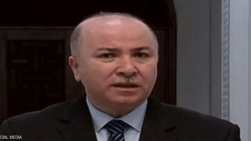 رئيس الوزراء الجزائري أيمن عبد الرحمن