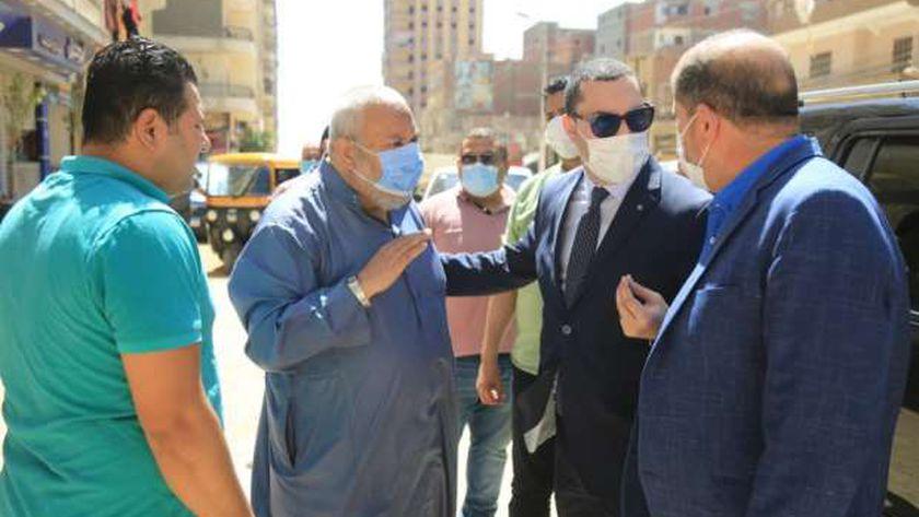 نائب محافظ كفر الشيخ يتفقد استكمال الحدائق العامة بالعاصمة ورصف المحاور