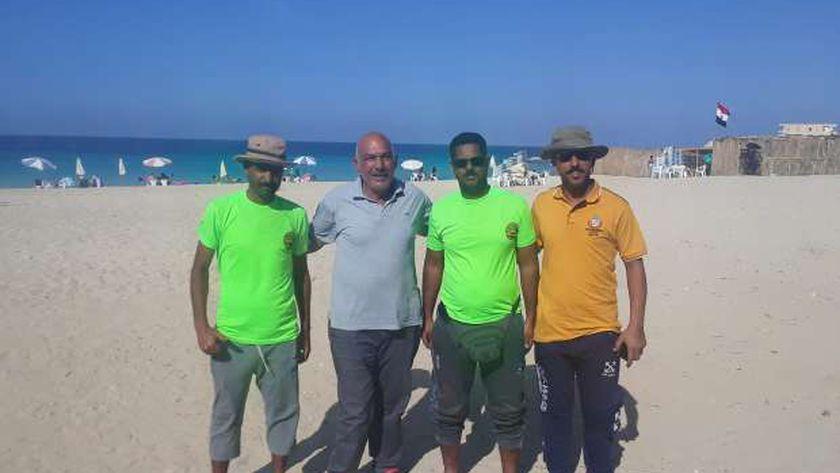 غواصين الخير على شواطىء مرسى مطروح