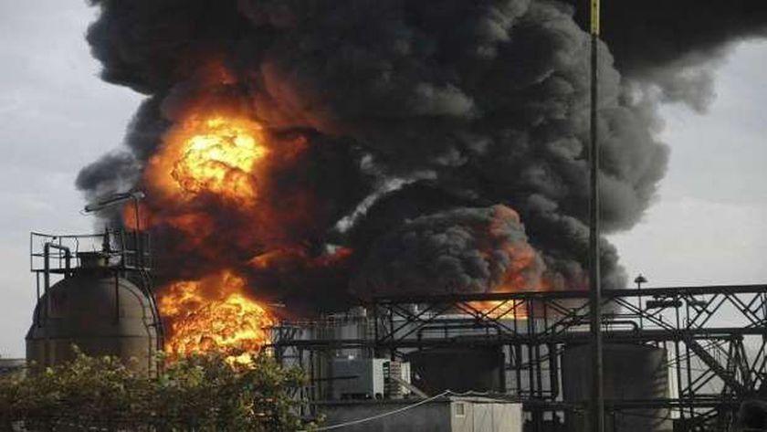 عاجل..مدير «مصفاة حمص»: لا يوجد أضرار بشرية في الحريق