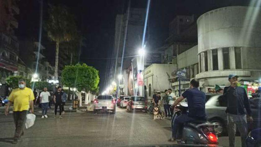 زحام في شوارع الإسماعيلية