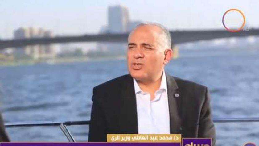 الدكتور محمد عبدالعاطي وزير الري