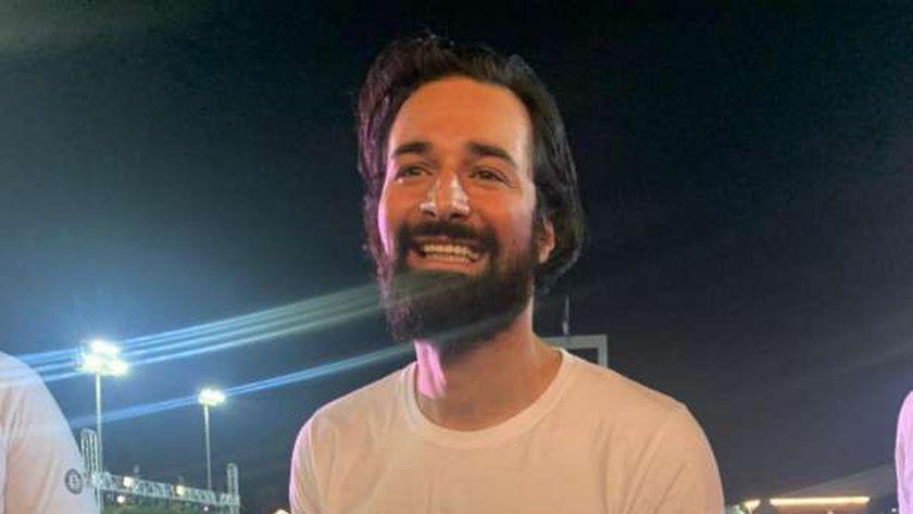 الفنان أحمد حاتم