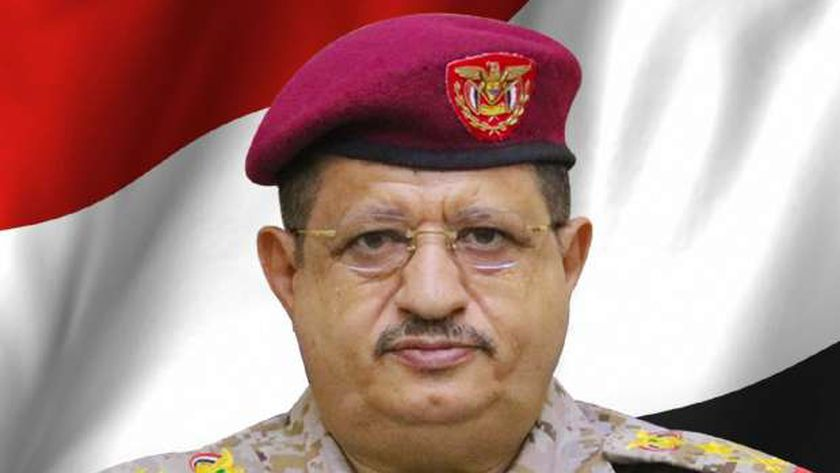 وزير الدفاع اليمني الفريق محمد المقدشي