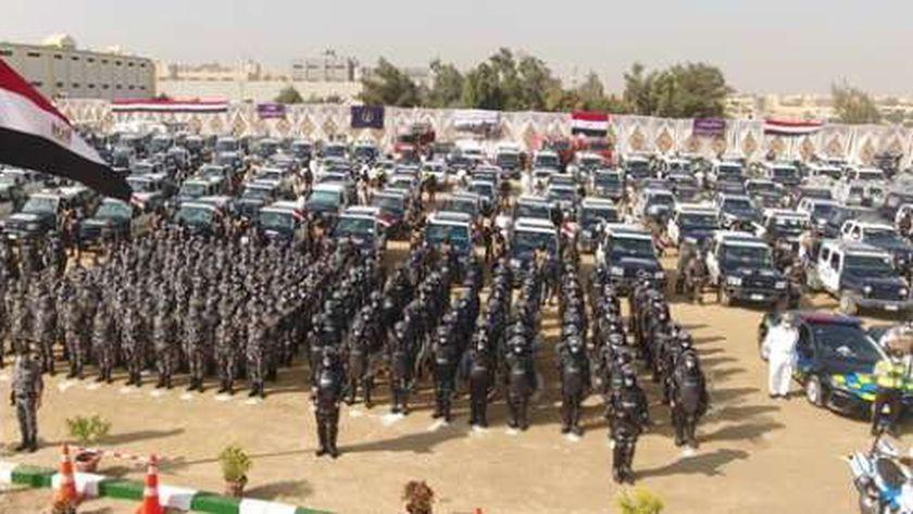 قوات الشرطة تستعد للمشاركة في الانتخابات لتأمين اللجان