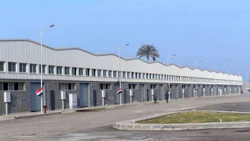 صورة لبعض المجمعات الصناعية