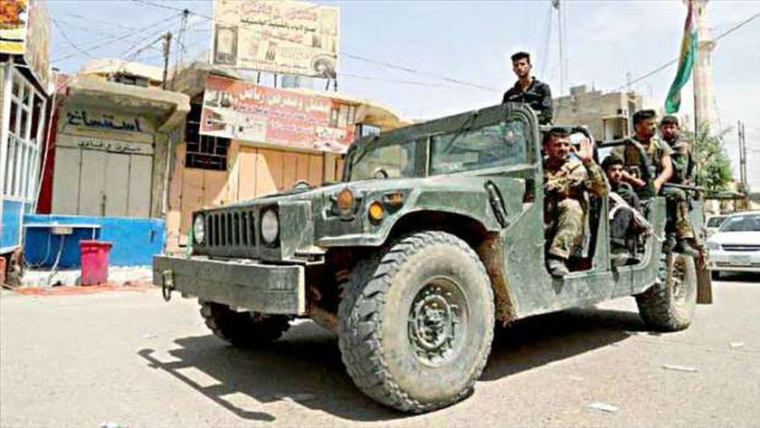 عناصر من القوات الأمنية العراقية