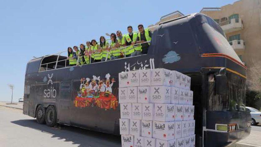"""""""الأسقفية"""" تشارك في توزيع الطعام على الأسر الفقيرة والمتضررة من كورونا"""