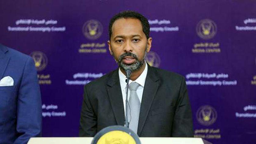 خالد عمر وزير شؤون مجلس الوزراء السوداني