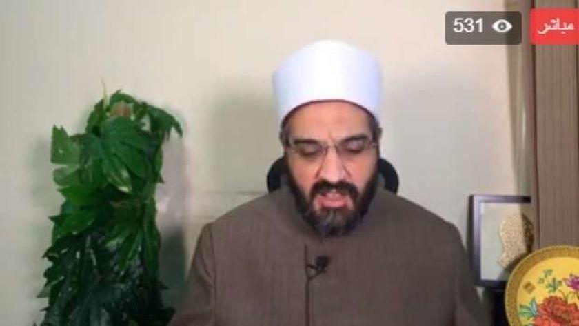 الدكتور عمرو الورداني مدير الفتوى بدار الإفتاء المصرية