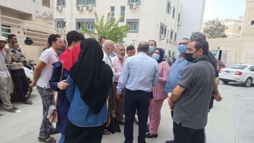 أهالي ضحايا الصرف الصحي بكفر الشيخ