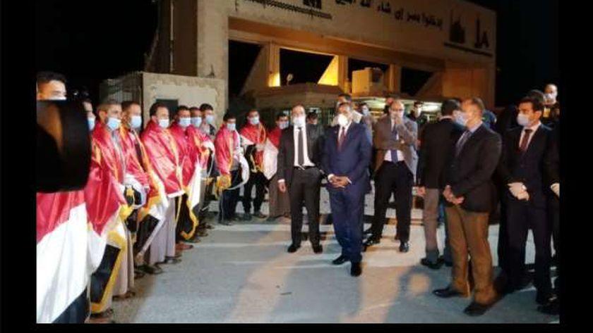 العائدين من ليبيا