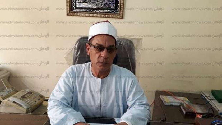 الشيخ سعد الفقى، وكيل أوقاف كفر الشيخ