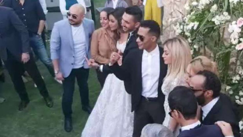 صور من حفل زفاف شقيقة محمد رمضان