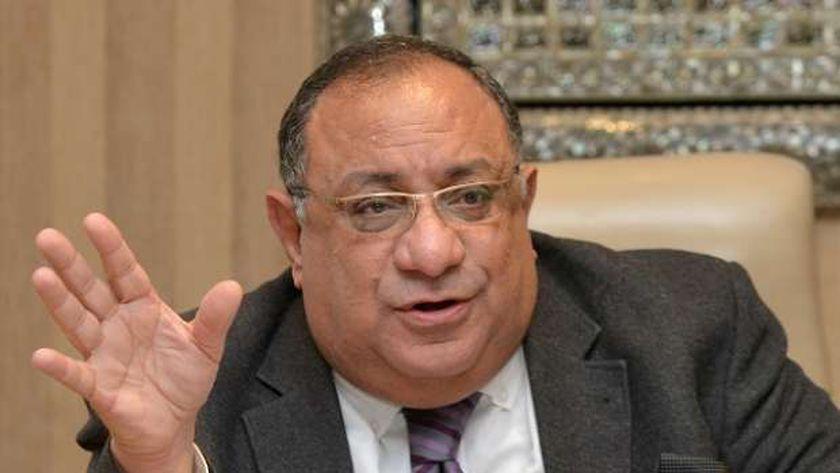 الدكتور ماجد نجم.. رئيس جامعة حلوان