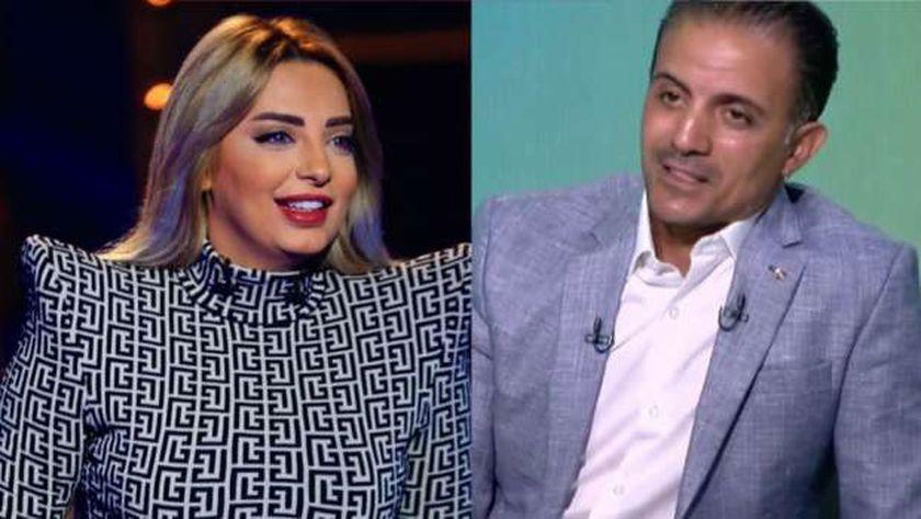 مي حلمي وأحمد صالح