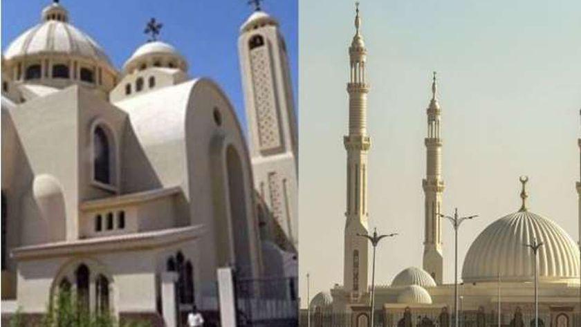شروط جديدة للصلاة في المساجد والكنائس