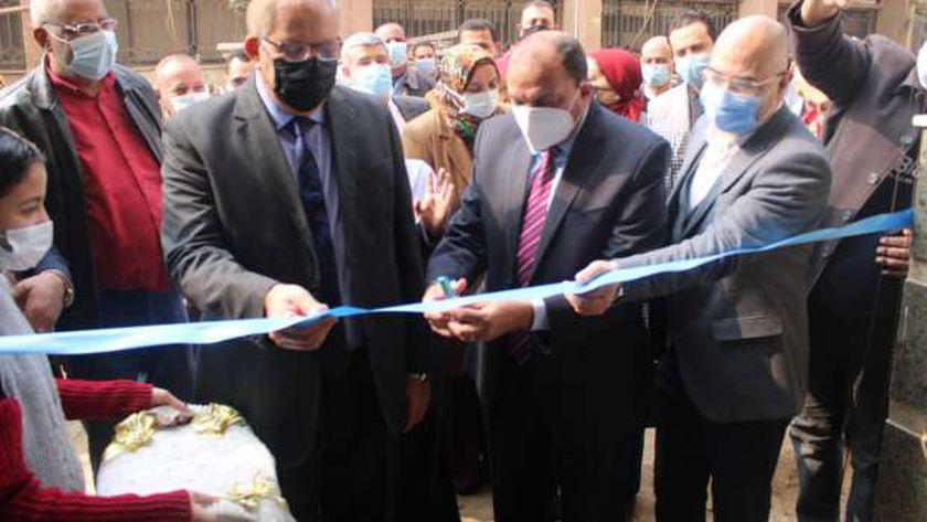 رئيس جامعة بني سويف يفتتح التوسعات الجديدة بالمستشفى الجامعي